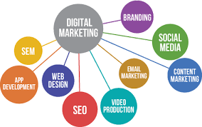 digital marketing fields