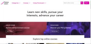 free digital skill learning futurelearn