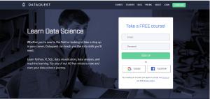 free digital skill training dataquest